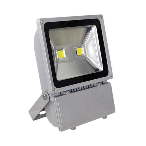100W LED Flood Light (Equiv 500W), Waterproof IP65, Cool White