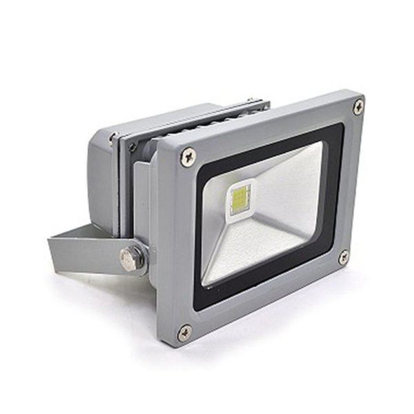 10W LED Flood Light, Waterproof IP65, Cool White
