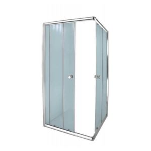 Aqua Lux Shower Door, Chrome, 880 x 880 x 1850mm