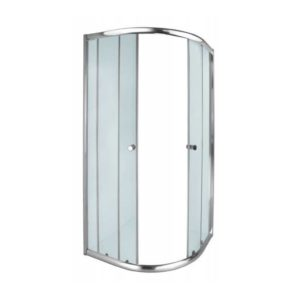 Aquila Shower Door, Chrome, 900 x 900 x 1850mm