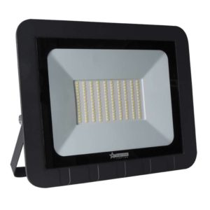 BRIGHT STAR 100W LED Floodlight, FL045, Aluminium, 6000K, 5000Lm, Black