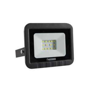 BRIGHT STAR 10W LED Floodlight, FL010, PVC, 6000K, 500Lm, Black