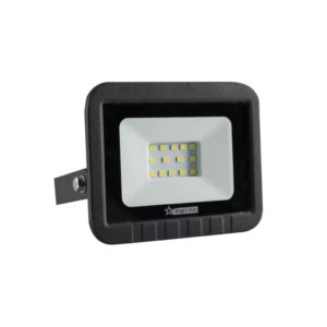 BRIGHT STAR 10W LED Floodlight, FL030, Die-Cast Aluminium, 6000K, 500Lm, Black
