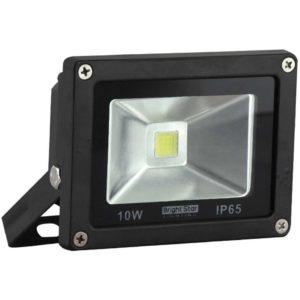 BRIGHT STAR 10W LED Floodlight, FL040, Aluminium, 6000K, 800Lm, Black