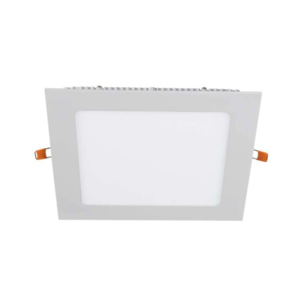 BRIGHT STAR 12W Square LED Downlight And Bulb DL713, 4000K, 840Lm, White