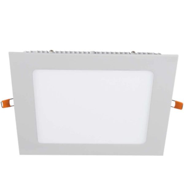 BRIGHT STAR 18W Square LED Downlight And Bulb DL715, 4000K, 1260Lm, White