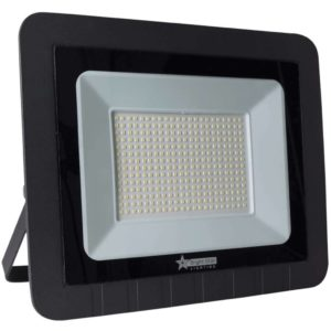 BRIGHT STAR 200W LED Floodlight, FL047, Aluminium, 6000K, 10000Lm, Black