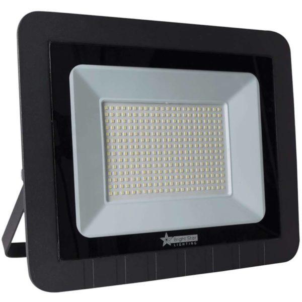 BRIGHT STAR 200W LED Floodlight, FL047, Aluminium, 6000K, 10000Lm, Black