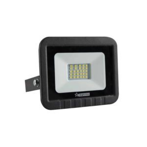 BRIGHT STAR 20W LED Floodlight, FL011, PVC, 6000K, 1000Lm, Black