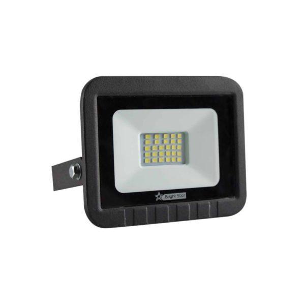 BRIGHT STAR 20W LED Floodlight, FL011, PVC, 6000K, 1000Lm, Black
