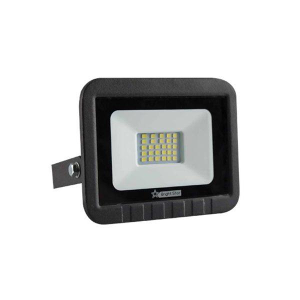 BRIGHT STAR 20W LED Floodlight, FL032, Die-Cast Aluminium, 6000K, 1000Lm, Black