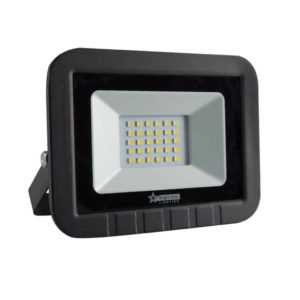 BRIGHT STAR 30W LED Floodlight, FL012, PVC, 6000K, 1500Lm, Black