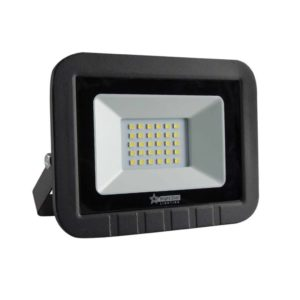 BRIGHT STAR 30W LED Floodlight, FL034, Die-Cast Aluminium, 6000K, 1500Lm, Black