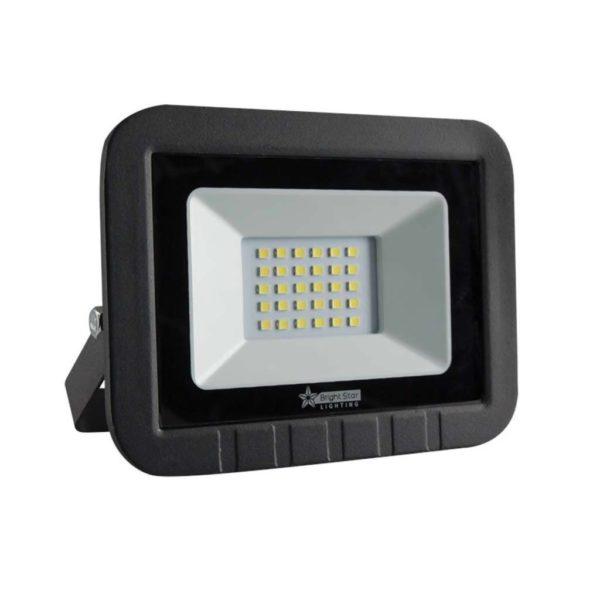 BRIGHT STAR 30W LED Floodlight, FL034, Die-Cast Aluminium, 6000K, 1500Lm, Black