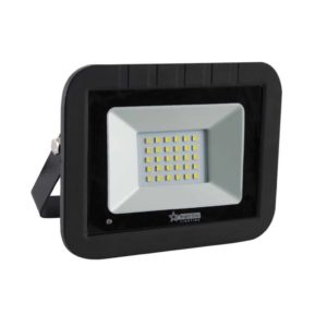 BRIGHT STAR 30W LED Floodlight With Motion Sensor, FL033, 6000K, 1500Lm, Black