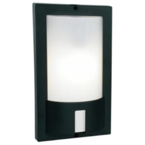 BRIGHT STAR BH061 Black Square Bulkhead, E27, 60W, Die Cast Aluminium