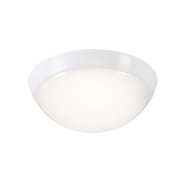 BRIGHT STAR BH068 White LED Round Bulkhead, 4000K, 560Lm, 7W, PVC