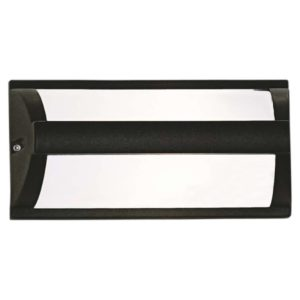 BRIGHT STAR BH084 Black Bulkhead With Bar Cover, 18W, E27, Die Cast Aluminium