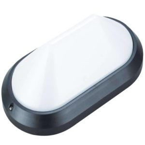 BRIGHT STAR BH113 Black Bulkhead, 60W, E27, ABS Plastic