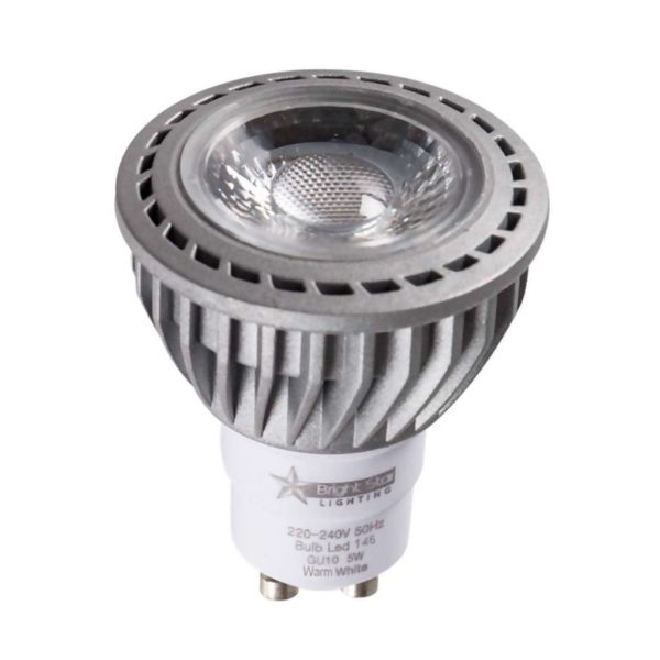 BRIGHT STAR LED Dimmable Downlight Bulb 146, GU10, 2700K, 400Lm