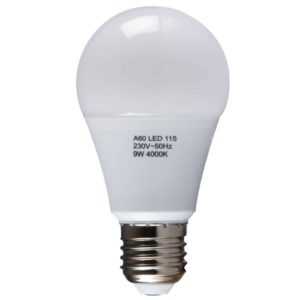 BRIGHT STAR LED Frosted Bulb 115, 9W, 4000K, 806Lm