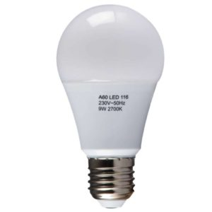 BRIGHT STAR LED Frosted Bulb 116, 9W, 2700K, 806Lm