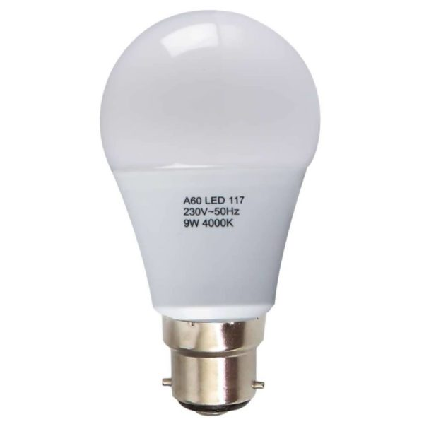 BRIGHT STAR LED Frosted Bulb 117, 9W, 4000K, 806Lm