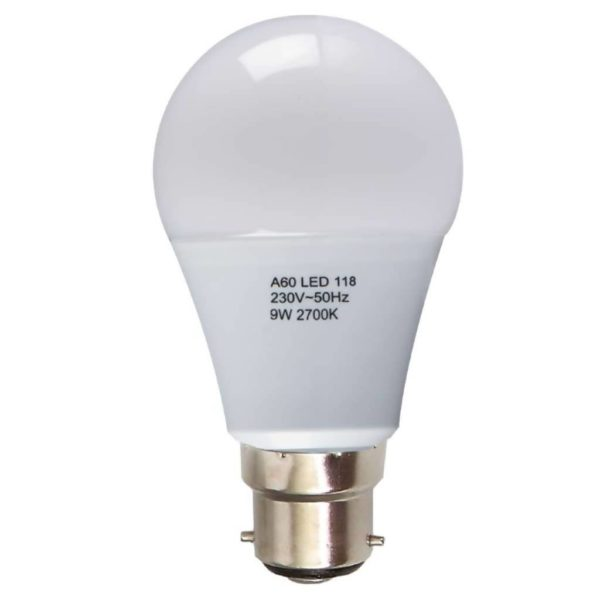 BRIGHT STAR LED Frosted Bulb 118, 9W, 2700K, 806Lm