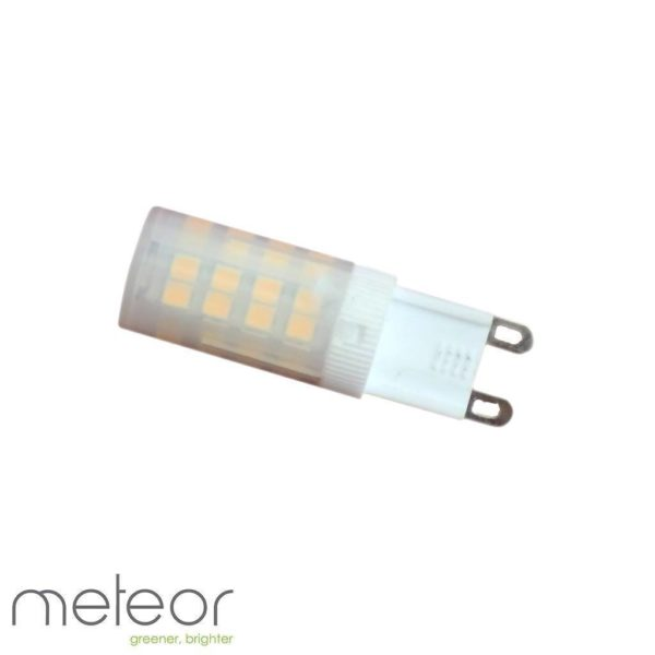 Ceramic LED G9 Lamp, 6W, 2800K Warm White, Frosted (Equiv. 60W)