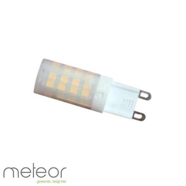 Ceramic LED G9 Lamp, 6W, 4000K Natural White, Frosted (Equiv. 60W)