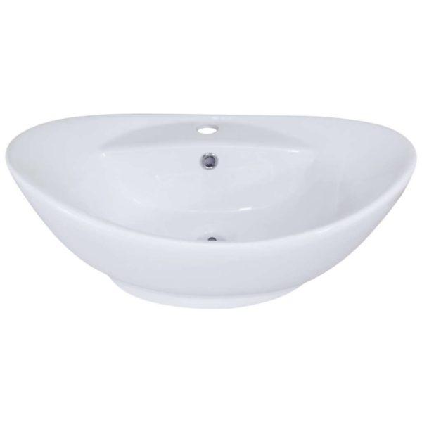 CT Alterne Lyon Basin, 580mm x 385mm x 210mm, Porcelain