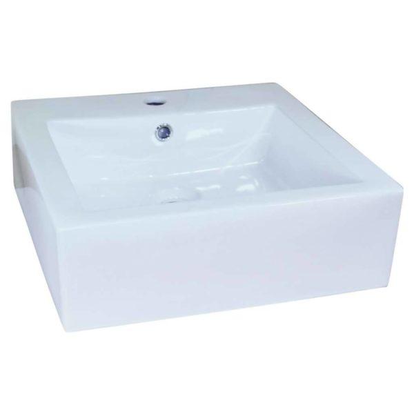 CT Alterne Nancy Basin, 470mm x 470mm x 155mm, Porcelain