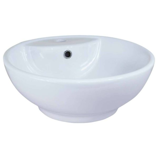 CT Alterne Reims Basin, 450mm x 450mm x 180mm, Porcelain
