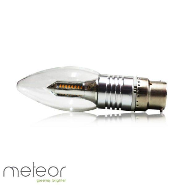 Dimmable LED Light Bulb, 4W, B22 2800K Warm White, Clear (Equiv. 40W)