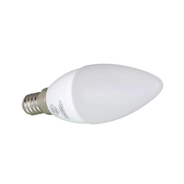 Ellies Candle LED Light Bulb, E14, Cool White, 4W
