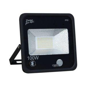 Ellies LED Flood Light With Ambient Light Sensor, 100W, 6500k, IP65