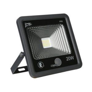 Ellies LED Flood Light With Ambient Light Sensor, 20W, 6500k, IP65