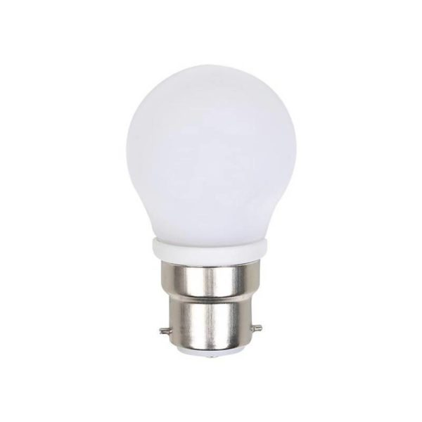 Ellies LED Light Bulb, B22, Cool White, 4W G45