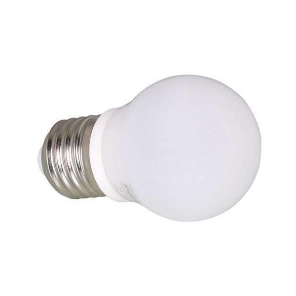 Ellies LED Light Bulb, E27, Cool White, 4W G45