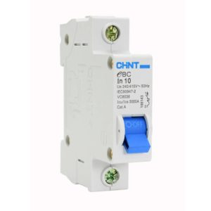 EUROLUX 1 Pole 10AMP Circuit Breaker, 3kA, 50/60Hz