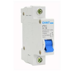 EUROLUX 1 Pole 16AMP Circuit Breaker, 3kA, 50/60Hz