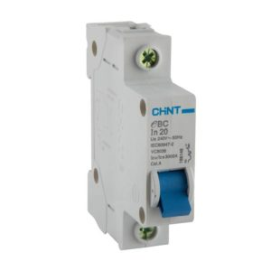 EUROLUX 1 Pole 20AMP Circuit Breaker, 3kA, 50/60Hz