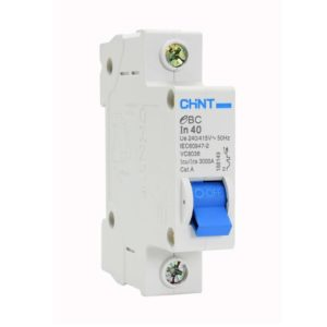 EUROLUX 1 Pole 40AMP Circuit Breaker, 3kA, 50/60Hz