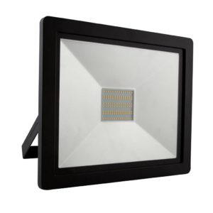 EUROLUX 100W LED Floodlight, 4000K, Black