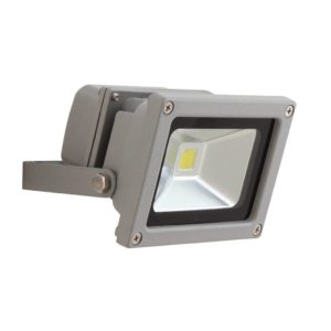 EUROLUX 10W LED Floodlight, Silver