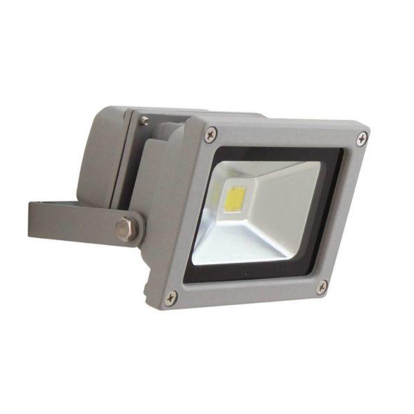 EUROLUX 10W LED Floodlight, Silver