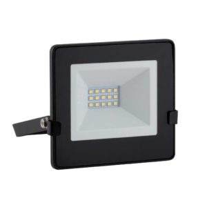 EUROLUX 10W LED Floodlight With Day/Night Sensor, Warm White