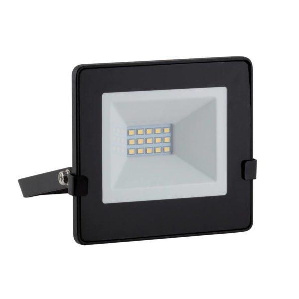 EUROLUX 10W LED Floodlight With Day/Night Sensor, Warm White