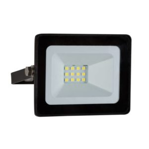 EUROLUX 10W LED Mini Floodlight, 4000K, Black