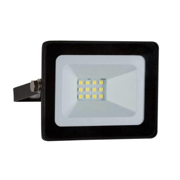 EUROLUX 10W LED Mini Floodlight, 4000K, Black